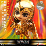 COSB729 - Wonder Woman (Metallic Gold Version) Cosbaby (S) - ActionCity