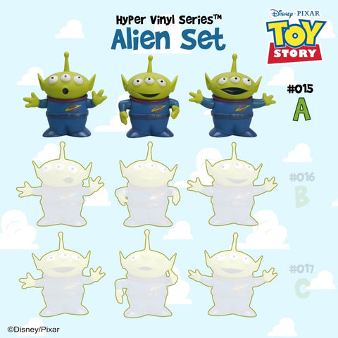 [Toy Story 4 Collection] HVS#015 Alien Set A Toy | Action City Singapore