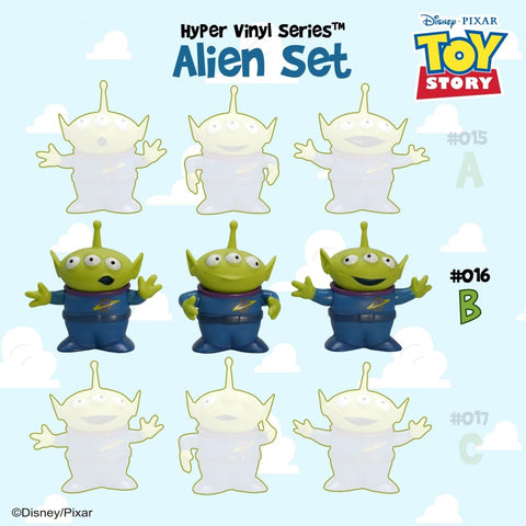 [Toy Story 4 Collection] HVS#016 Alien Set B Toy | Action City Singapore