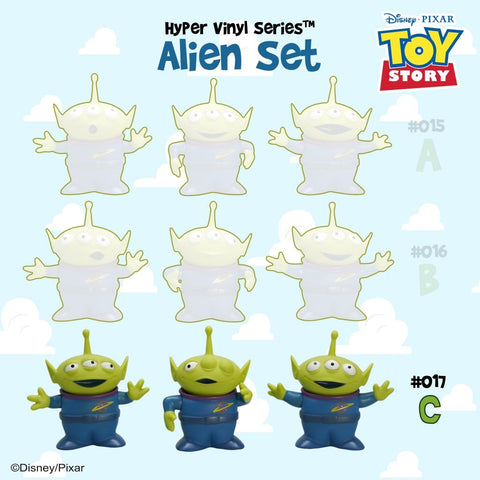 [Toy Story 4 Collection] HVS#017 Alien Set C Toy | Action City Singapore