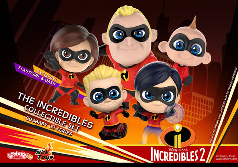 COSB480 - Incredibles 2 - Cosbaby (S) Series - The Incredibles Set of 5 Cosbaby (S) - ActionCity