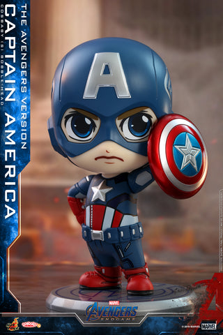 COSB576 – Avengers: Endgame - Captain America (The Avengers Version) Cosbaby (S) (BGM)