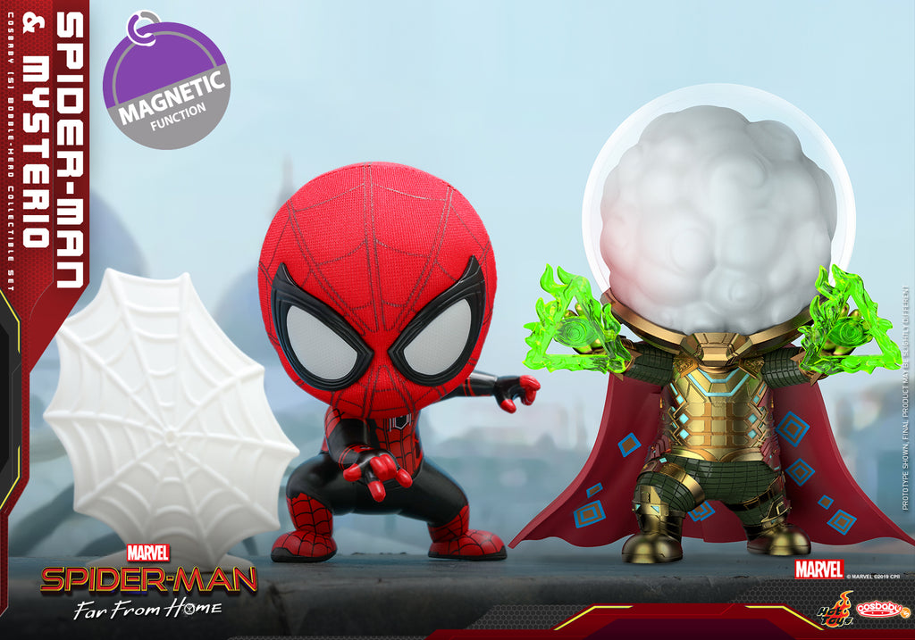 COSB633 – Spider-Man and Mysterio Cosbaby (S) Collectible Set (BGM) - ActionCity