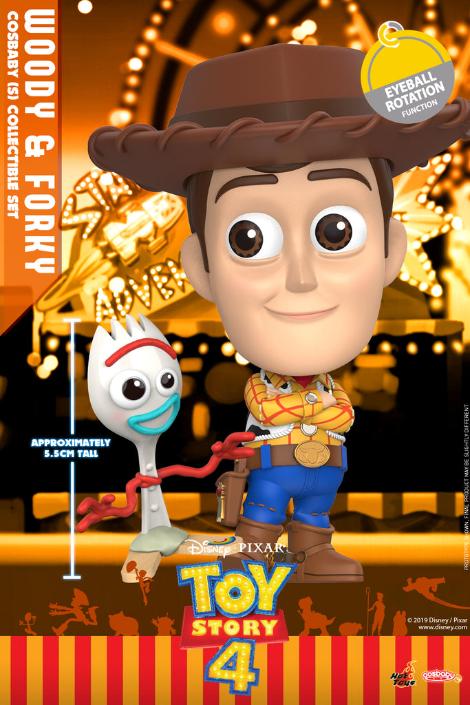 COSB602 – Woody and Forky Cosbaby (S) Collectible Set (BGTS) - ActionCity
