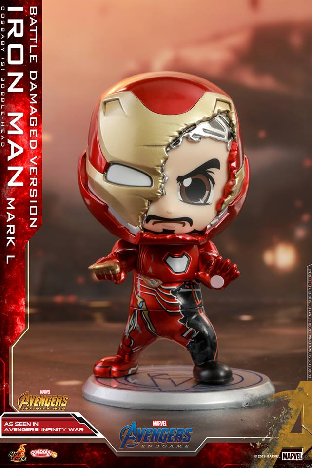 Iron Man Mark L (Battle Damaged Version) | ActionCity Singapore