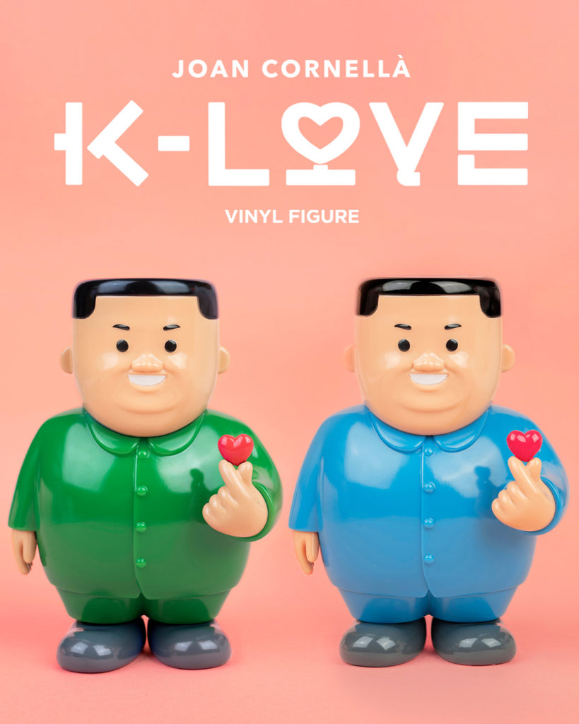 K-LOVE: KEEP LOVE Alive VINYL edition by Joan Cornellà x AllRightsReserved x DING DONG (Blue Colour) - ActionCity