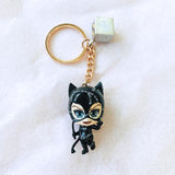 PKEY172N - Cosbaby Figure Keychain - Catwoman with Whip - ActionCity