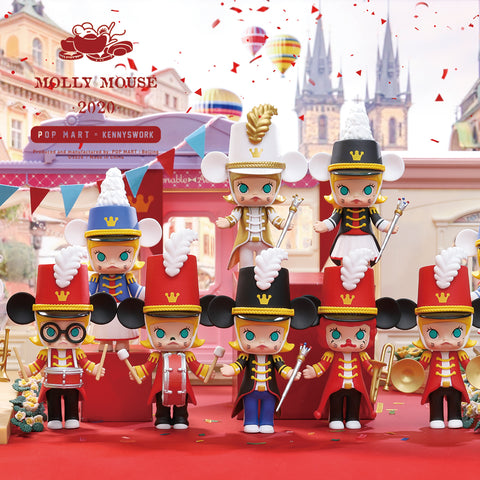 Pop Mart Molly Mouse Band 2020 Series Set