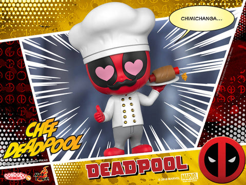 COSB484 - Deadpool 2 - Chef Deadpool Cosbaby (S) - ActionCity
