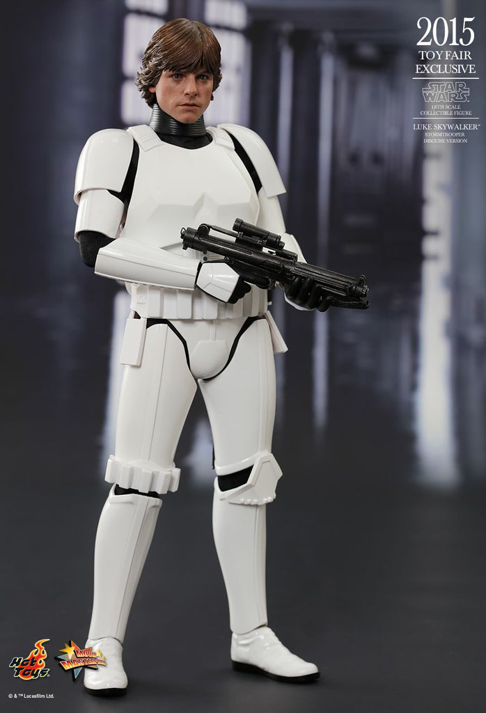 MMS304 - Star Wars: Episode IV A New Hope - Luke Skywalker (Stormtrooper Disguise Version) 1/6th Scale Collectible Figure - ActionCity