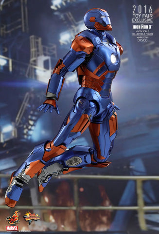 MMS371 - Iron Man 3 Disco (Mark XXVII) 1/6th Scale Collectible Figure - ActionCity