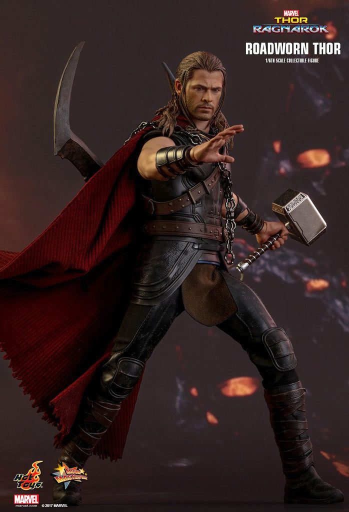 MMS416 - Thor: Ragnarok Roadworn Thor 1/6th Scale Collectible Figure - ActionCity