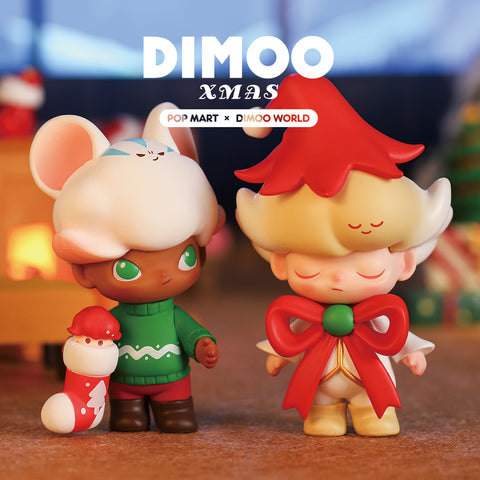 ActionCity Live: Pop Mart Dimoo Christmas Series - Case of 12 Blind Boxes - ActionCity
