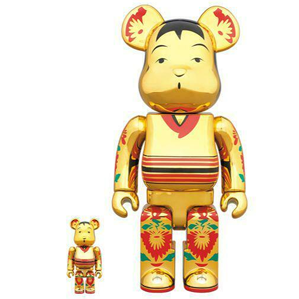 BE@RBRICK Kokeburick Gold Plated 100% & 400% - ActionCity
