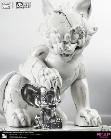 ActionCity Live: AM015 Soap Studio Tom and Jerry Limited Edition White Marble - ActionCity