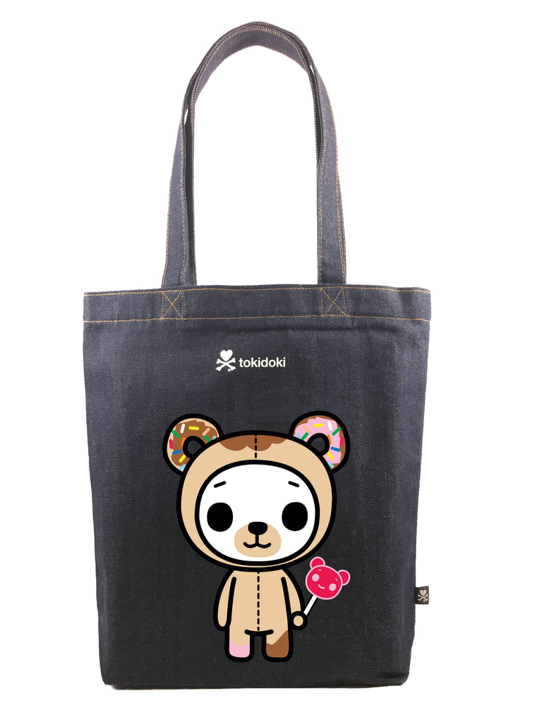 Tokidoki Bag Limited Edition Collections - Tokidoki Biscotti Tote Bag Candy | ActionCity Singapore