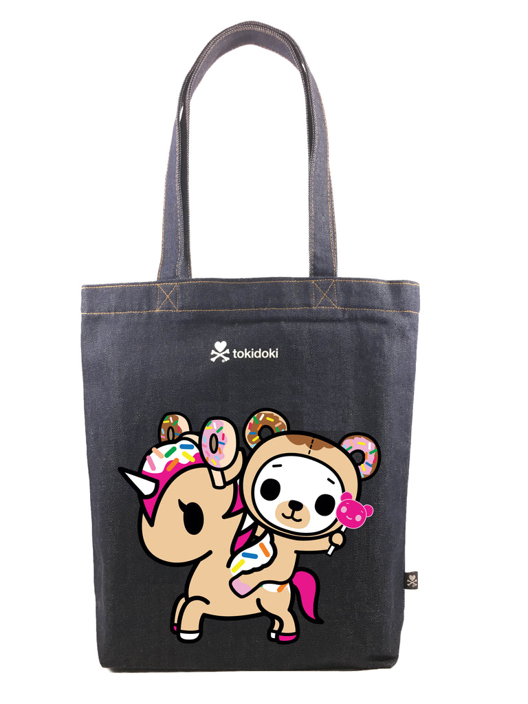Tokidoki Bag Limited Edition Collections - Tokidoki Soulmate Tote Bag Biscotti & Dolce | ActionCity Singapore