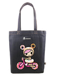 Tokidoki Bag Limited Edition Collections - Tokidoki Biscotti Tote Bag Sprinkle Cycle | ActionCity Singapore