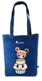 Tokidoki Bag Limited Edition Collections - Tokidoki Biscotti Tote Bag Cream Cake | ActionCity Singapore