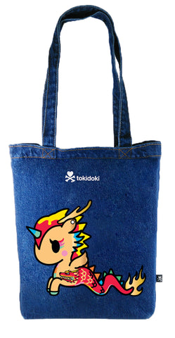 [Tokidoki Bag Limited Edition Collections] - Tokidoki Mermicono Unicorn Tote Bag | ActionCity Singapore