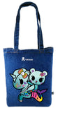 Tokidoki Bag Limited Edition Collections - Tokidoki Soulmate Tote Bag Palette & Aquamarina | ActionCity Singapore