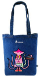 Tokidoki Bag Limited Edition Collections - TKDK MB Tote Bag Squid A-09 | ActionCity SIngapore