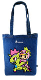 Tokidoki Bag Limited Edition Collections - Tokidoki Soulmate Tote Bag Terror & Kaijicorno | ActionCity Singapore