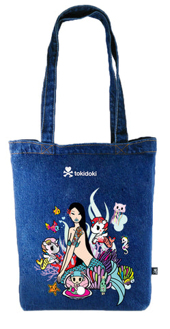 Tokidoki Bag Limited Edition Collections - Tokidoki Besties Tote Bag-Tokidoki Girls G2 A11 | ActionCity Singapore