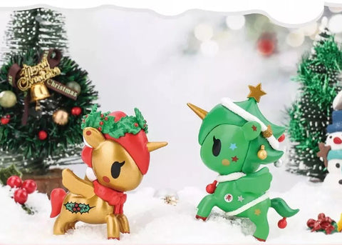 tokidoki Holiday Unicorno Series 1 - Case of 12 Blind Boxes