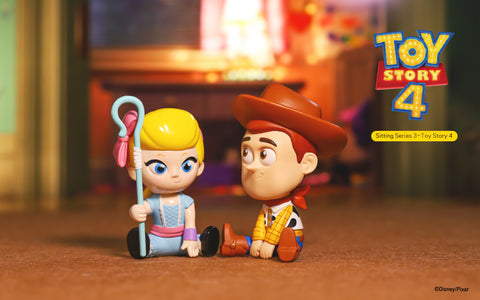 ActionCity Live: Popmart Disney Sitting Series 3 Toy Story 4  - Case of 12 Blind Boxes - ActionCity