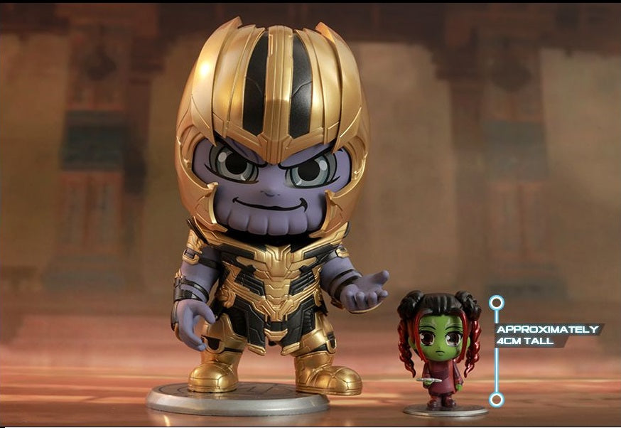Thanos and Gamora Cosbaby Hot Toys Set | ActionCity Singapore