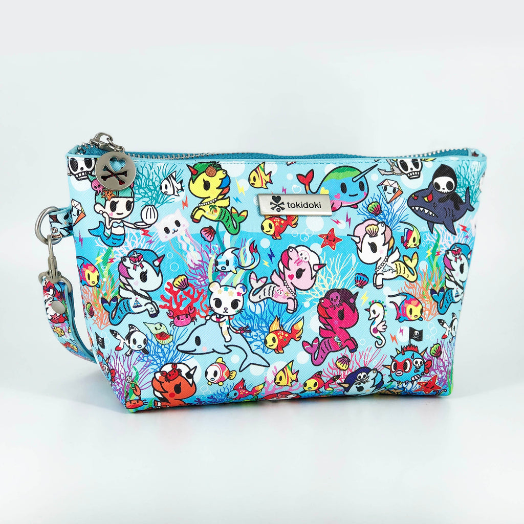 Tokidoki Cosmetic Bag Limited Edition Collections Ocean Blue | ActionCity Singapore