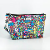 Tokidoki Cosmetic Bag Limited Edition Collections Forest Green | ActionCity Singapore