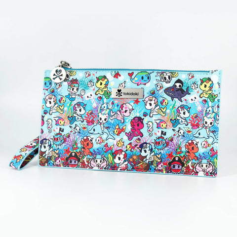 Jujube Tokidoki Fashion Pouch Ocean Blue| ActionCity Singapore