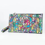 Jujube Tokidoki Fashion Pouch Forest Green | ActionCity Singapore