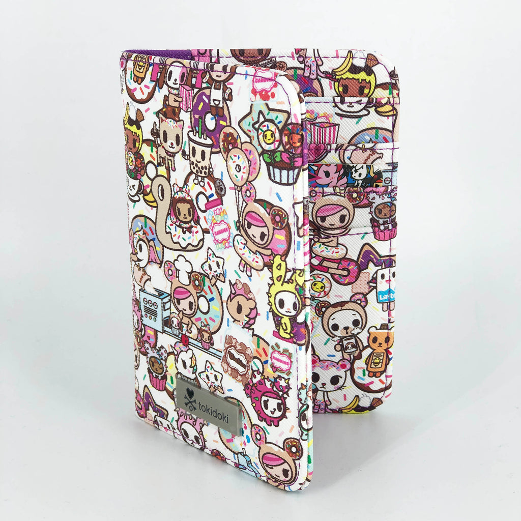 Tokidoki Passport Holder Pearl White | ActionCity Singapore