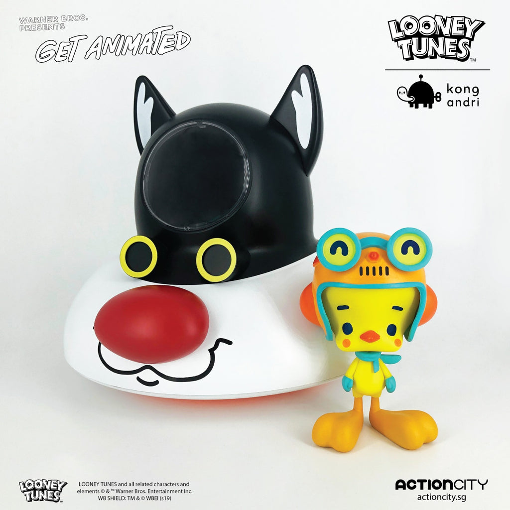 Sylvester & Tweety Collectible Figure - Kong Andri (Get Animated Singapore) - ActionCity