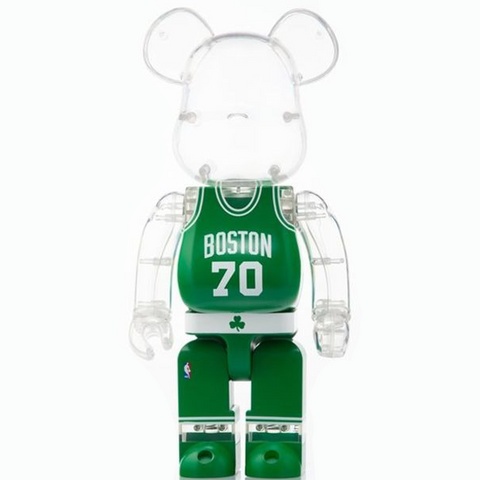 BE@RBRICK NBA Celtics Green 400%