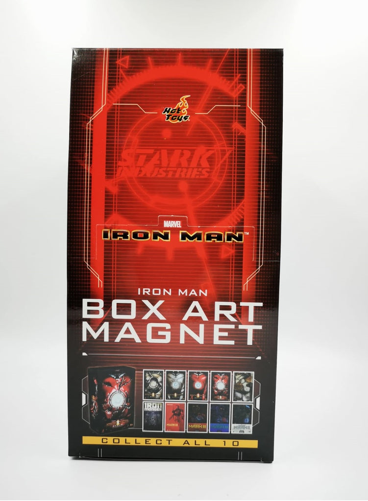 PMAG005N Iron Man Box Art Magnet Set Of 10pcs (BGCO) - ActionCity