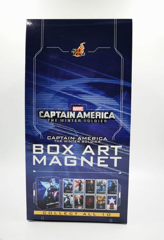 PMAG007N Captain America The Winter Soldier Box Art Magnet Set Of 10pcs (BGCO) - ActionCity