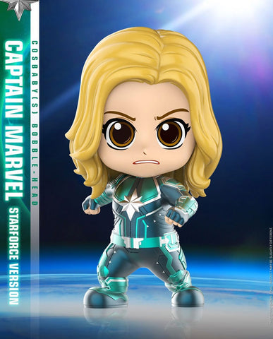 Captain Marvel Cosbaby (S) Bobble-Head (Starforce Version) (COSB543) - ActionCity Singapore