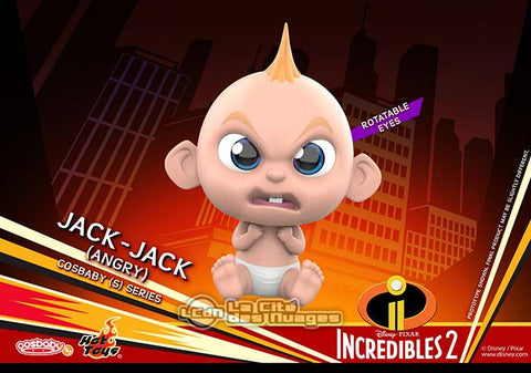 COSB479 - Incredibles 2 - Cosbaby (S) Series - Jack-Jack (Angry) Cosbaby (S) - ActionCity