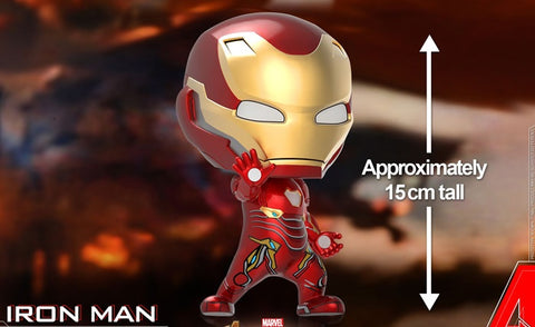 [Hot Toys Cosbaby] 15cm Tall Iron Man Mark L Cosbaby (M) Bobble-Head (COSB504) - ActionCity