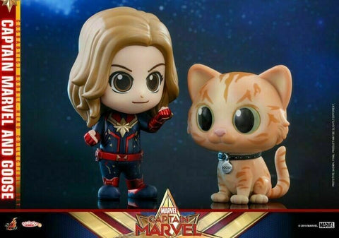 COSB541 – Captain Marvel & Goose Cosbaby (S) - ActionCity