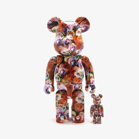 BE@RBRICK Mika Ninagawa Rose 100% & 400% - ActionCity