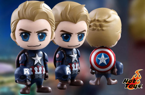 COSB259 - Captain America: Civil War - Steve Rogers Cosbaby (S) - ActionCity