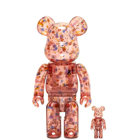BE@RBRICK Anrealage Clear Red Color 100% & 400%