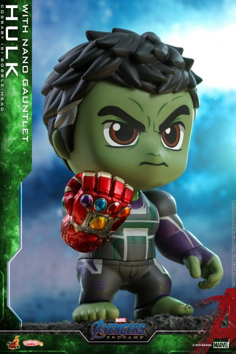 COSB570 – Avengers: Endgame - Hulk with Nano Gauntlet Cosbaby (S) (BGM)