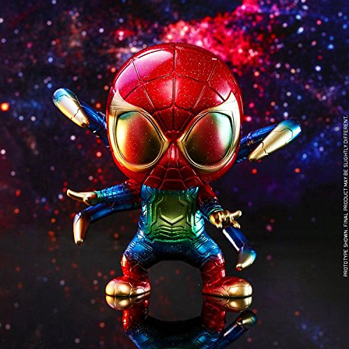 15CM Tall Iron Spider Spiderman Cosbaby Hot Toys | ActionCity Singapore