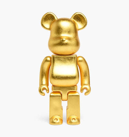 BE@RBRICK Kutani Kanazawa (Gold Leaf Version) 400% - ActionCity
